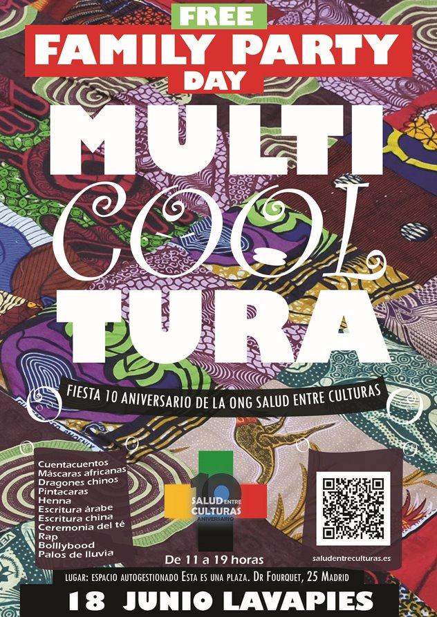 Salud Entre Culturas celebra sus 10 años con el festival Multi Cool Tura en Madrid