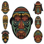 mascara tribal